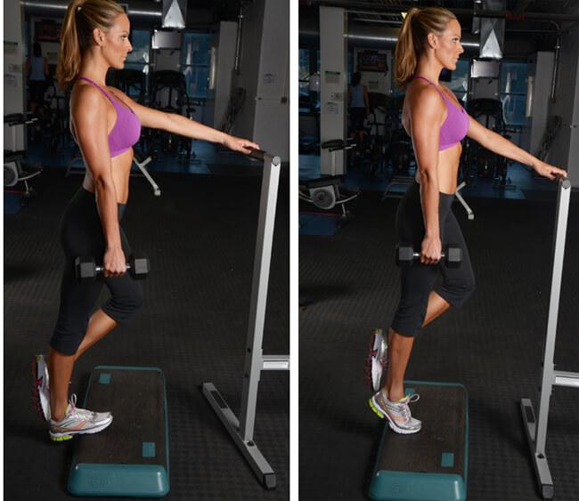 Упражнения Для Того Что Бы Похудели Икры. 12 упражнений для похудения в области голени + диета и советы для стройных икр