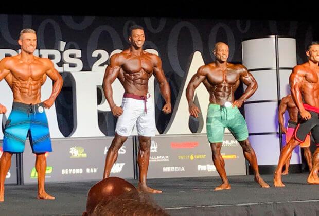 """Победитель Мистер Олимпия 2018 в категории """"Men's Physique"""""""