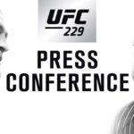 пресс-конференция Конора и Хабиба перед UFC 229