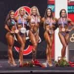 Результаты «Олимпии»-2021 в категории «Women's Physique»